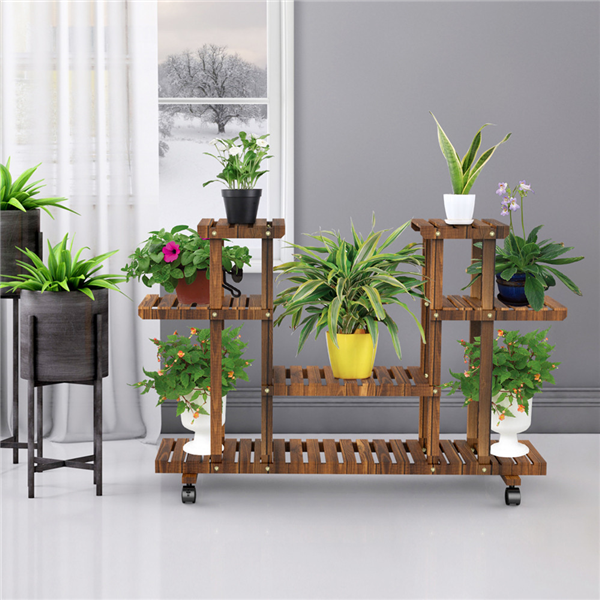 Multi Layer Flower Stand Indoor Wrought Iron Balcony Flower Pot Rack Floor Standing Living Room Storage Rack Home Furniture Aliexpress In 2020 Diy Plant Stand Tall Plant Stands House Plants Decor