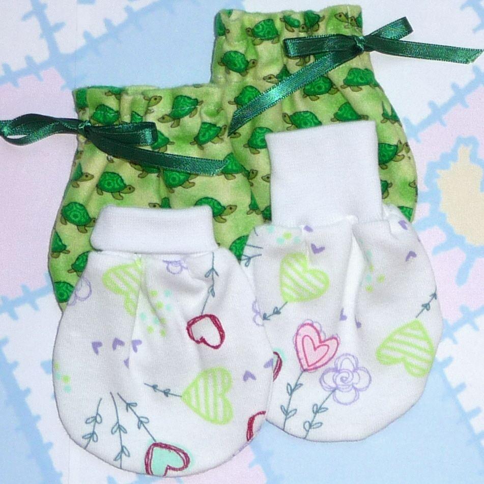Sewing Pattern Booties Printable Baby