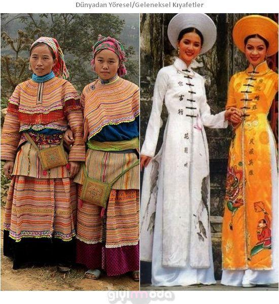 Vietnam Geleneksel Kıyafetleri