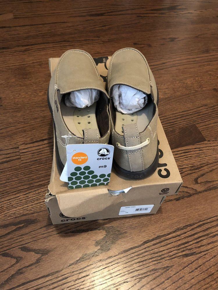 cda8a566bd9 Crocs Men s Santa Cruz 2 Luxe Slip-ons - Khaki (202056-261)  fashion   clothing  shoes  accessories  mensshoes  casualshoes (ebay link)