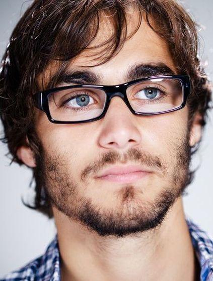 35eaaf7488 men's glasses Hombres Negros, Gafas, Lentes Hombre, Negros Con Ojos Azules,  Pelo