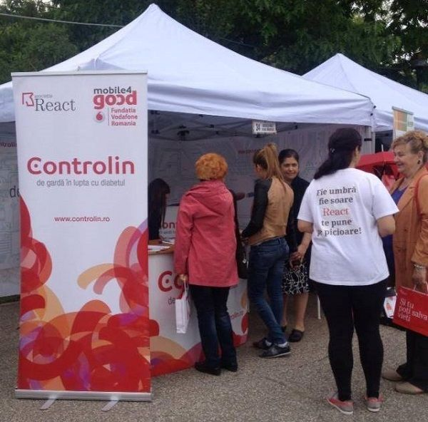 Fundatia Vodafone Romania si Asociatia React organizeaza Caravana Controlin