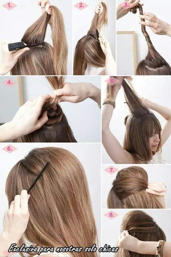 Peinados mujer paso a paso