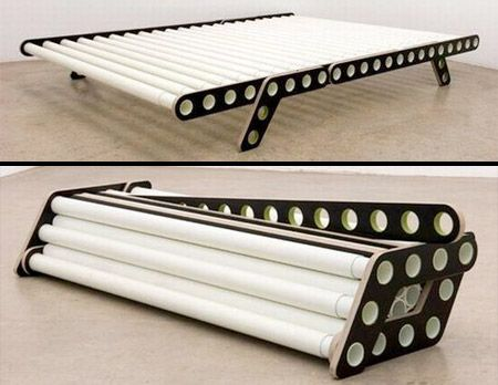 Foldable Bed Innovative Bed Made Of Fiberglass Reinforced Plastic