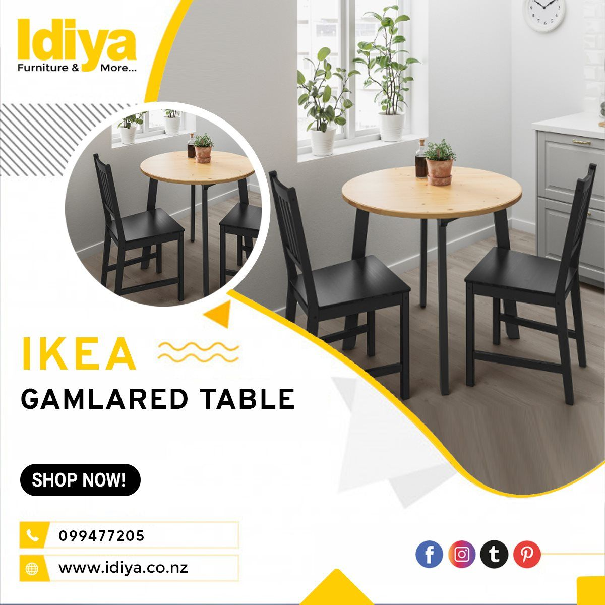 Ikea Gamlared Table Light Antique Stain Black Stained In Auckland Nz Idiya Ltd Ikea Lack Coffee Table Lack Coffee Table Table [ 1200 x 1200 Pixel ]