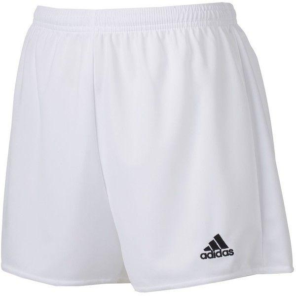 Women\u0027s Adidas climalite Womens Pama 16 Soccer Shorts, Size: M, White.