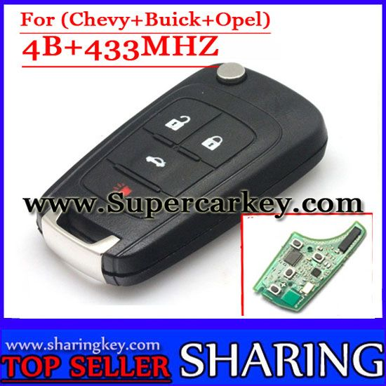 Free Shipping 4 Button Flip Remote Key Control 433mhz With Id46 Chip For Chevrolet Malibu Camaro 1piece Lot Chevrolet Cruze Buick Chevrolet Malibu