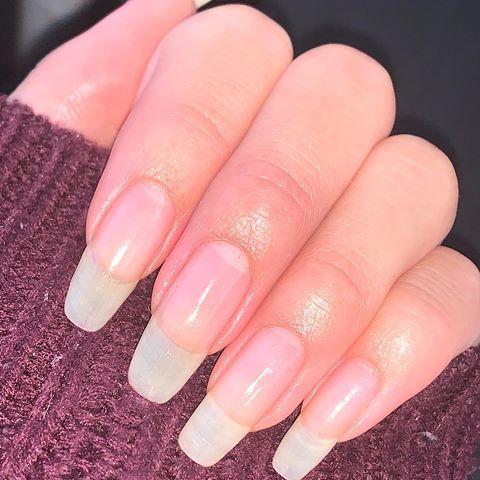 nail inspo ravenelyse 😻 in 2020  natural acrylic nails