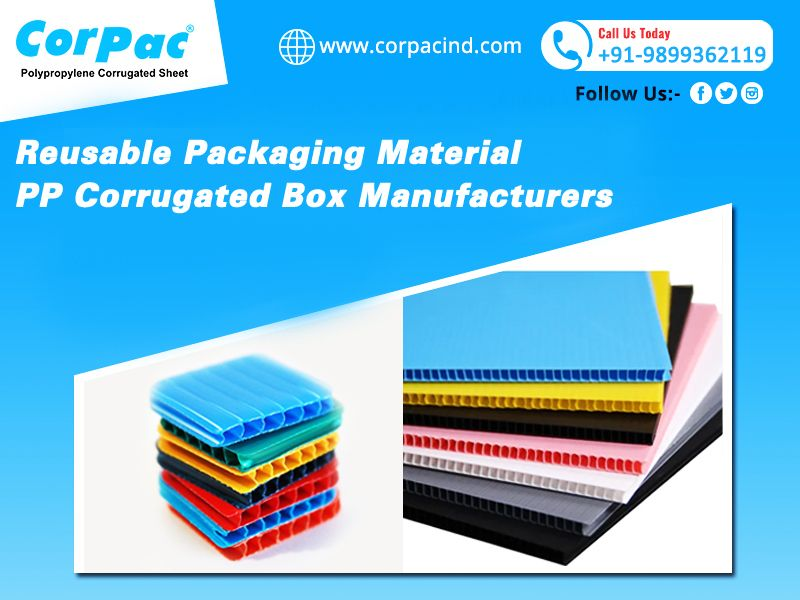 Reusable Packaging Material Pp Corrugated Box Manufacturers Corrugated Plastic Sheets Corrugated Box Reusable Packaging
