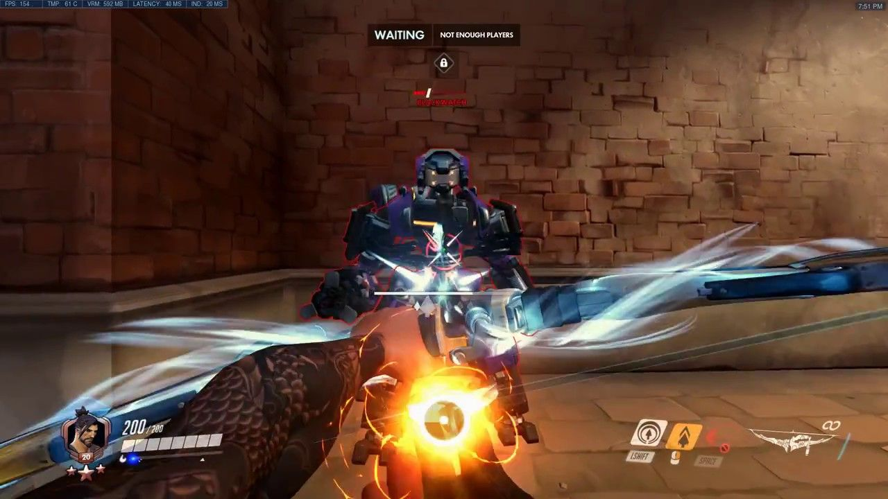 Overwatch Hanzo 2 0 Tank Busting Experiments Hanzo's new