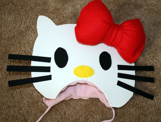 Diy hello kitty costume do it yourself pinterest diy hello kitty costume solutioingenieria Gallery