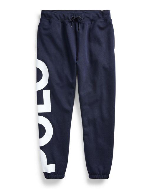 Polo Ralph Lauren Pantalon De Chandal De Hombre Regular Azul Tallas Grandes En 2020 Pantalones De Chandal Pantalones Pantalones Mujer