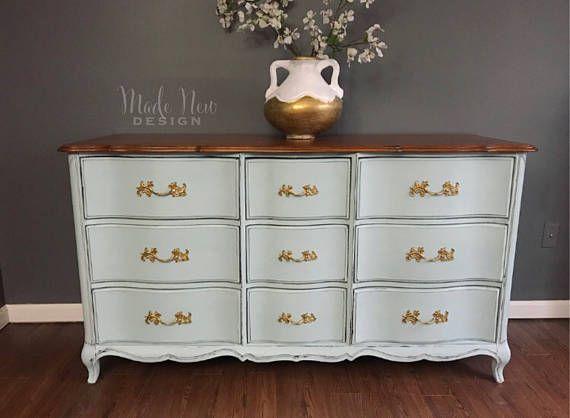 French Provincial Dresser   French provincial dresser ...