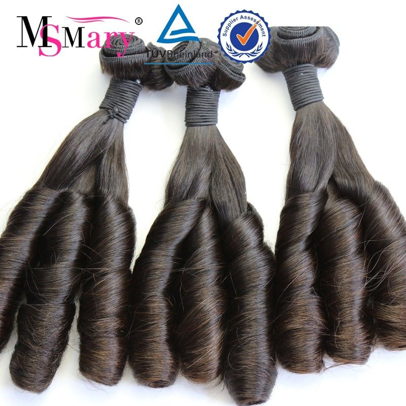 Elegant Henan Raw Virgin Indian Hair Weave Wholesale Human Funmi