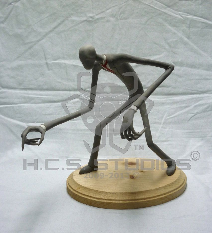 Slenderman Sculpture by *BlackHoleInAJar on deviantART