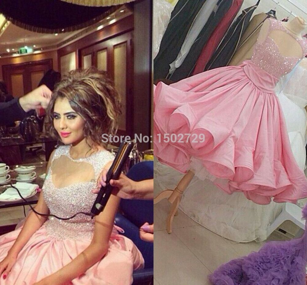 Click to Buy << Pink Myriam Fare Dress Real Image Ball Gown ...