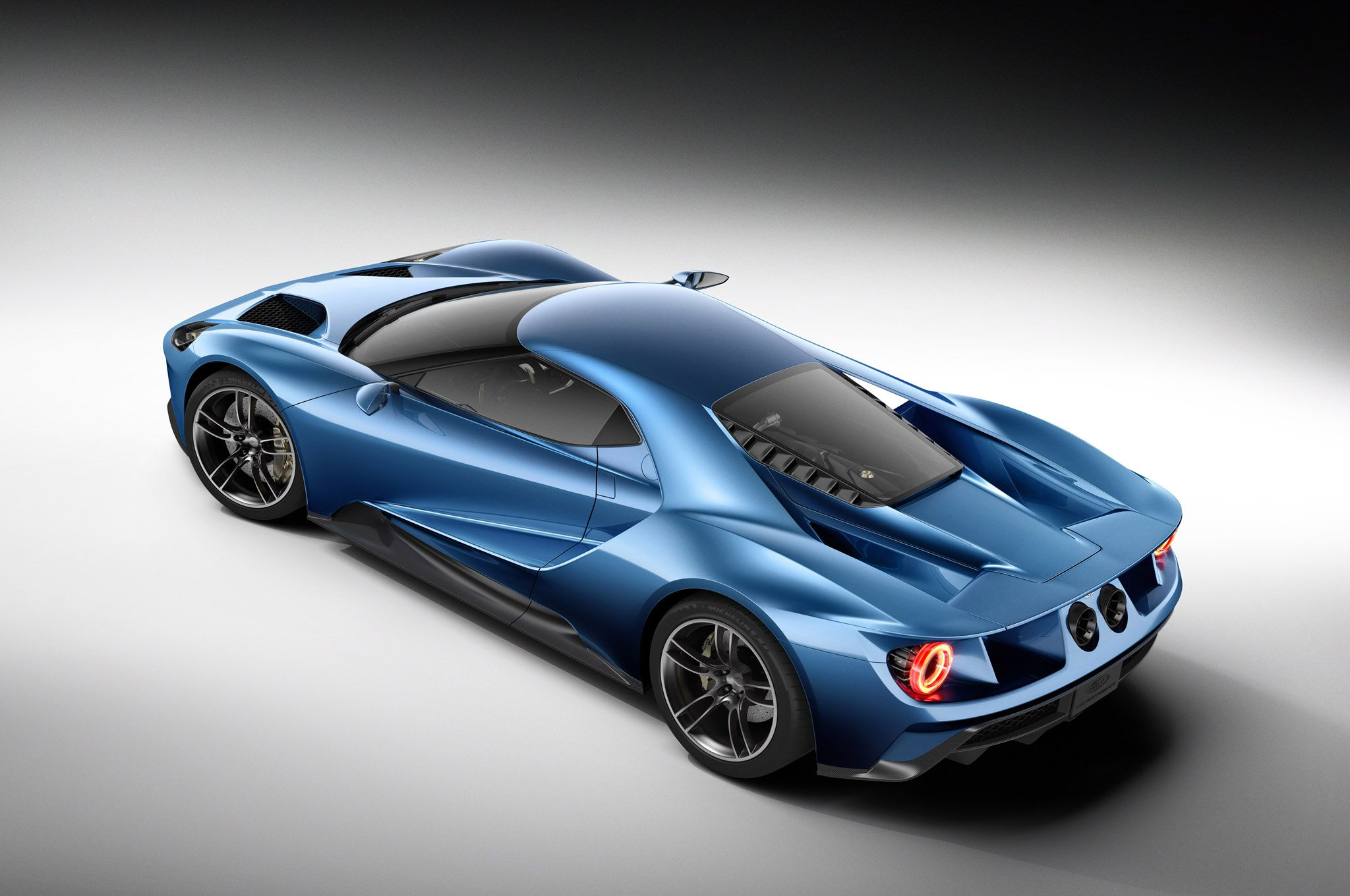 Ford Gt Rear Three Quarters From Above Jpg