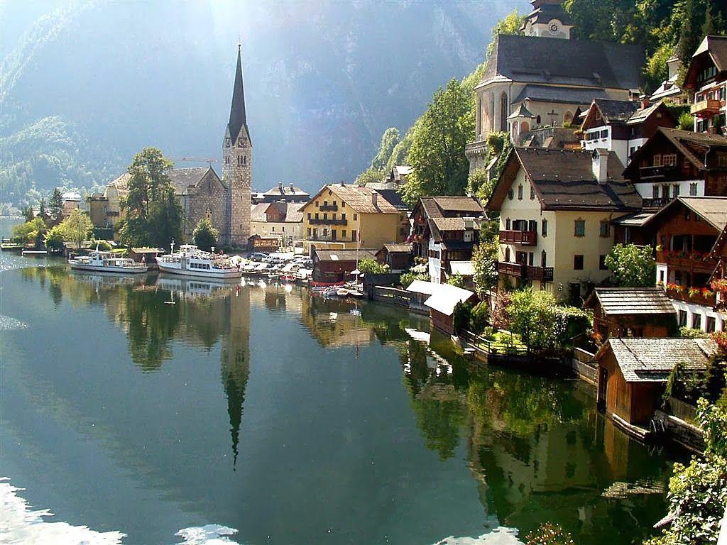 Las Mejores Fotografías del Mundo: Hallstatt - aldea en Austria