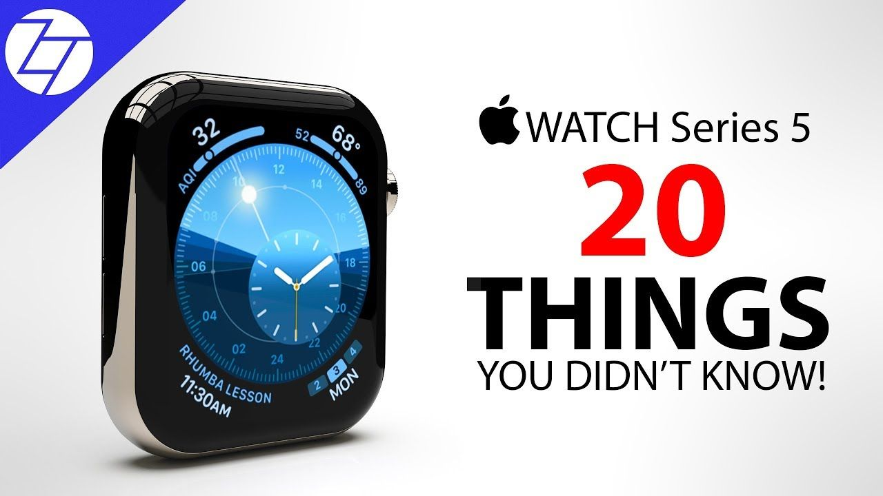 Apple Watch Series 5 20 Things You Didn't Know! Apple