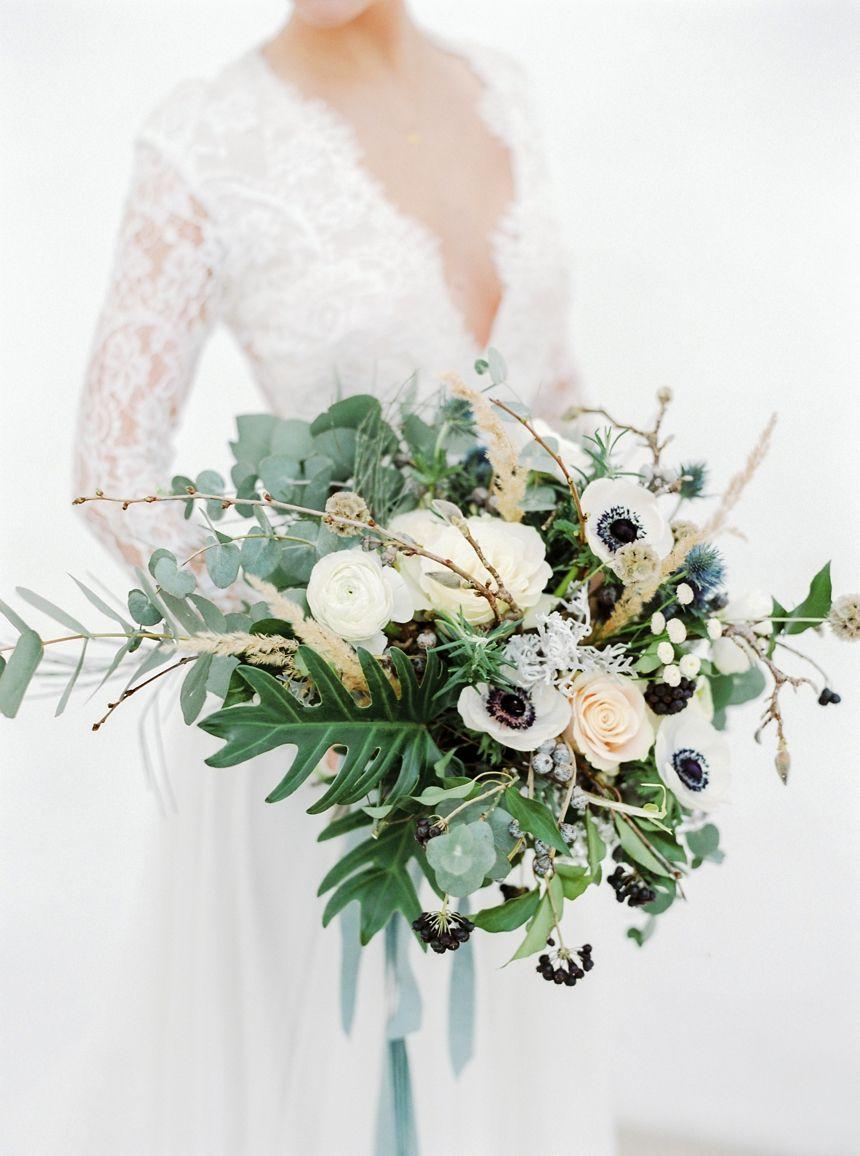 Winter Wedding Bridal Bouquet By Melanie Nedelko Fine Art Wedding
