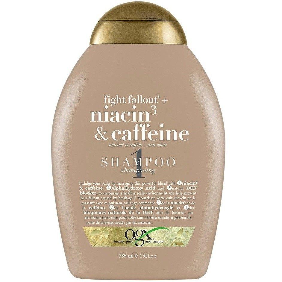 Ogx Fight Fallout + Niacin3 & Caffeine Shampoo 13 oz 6.29