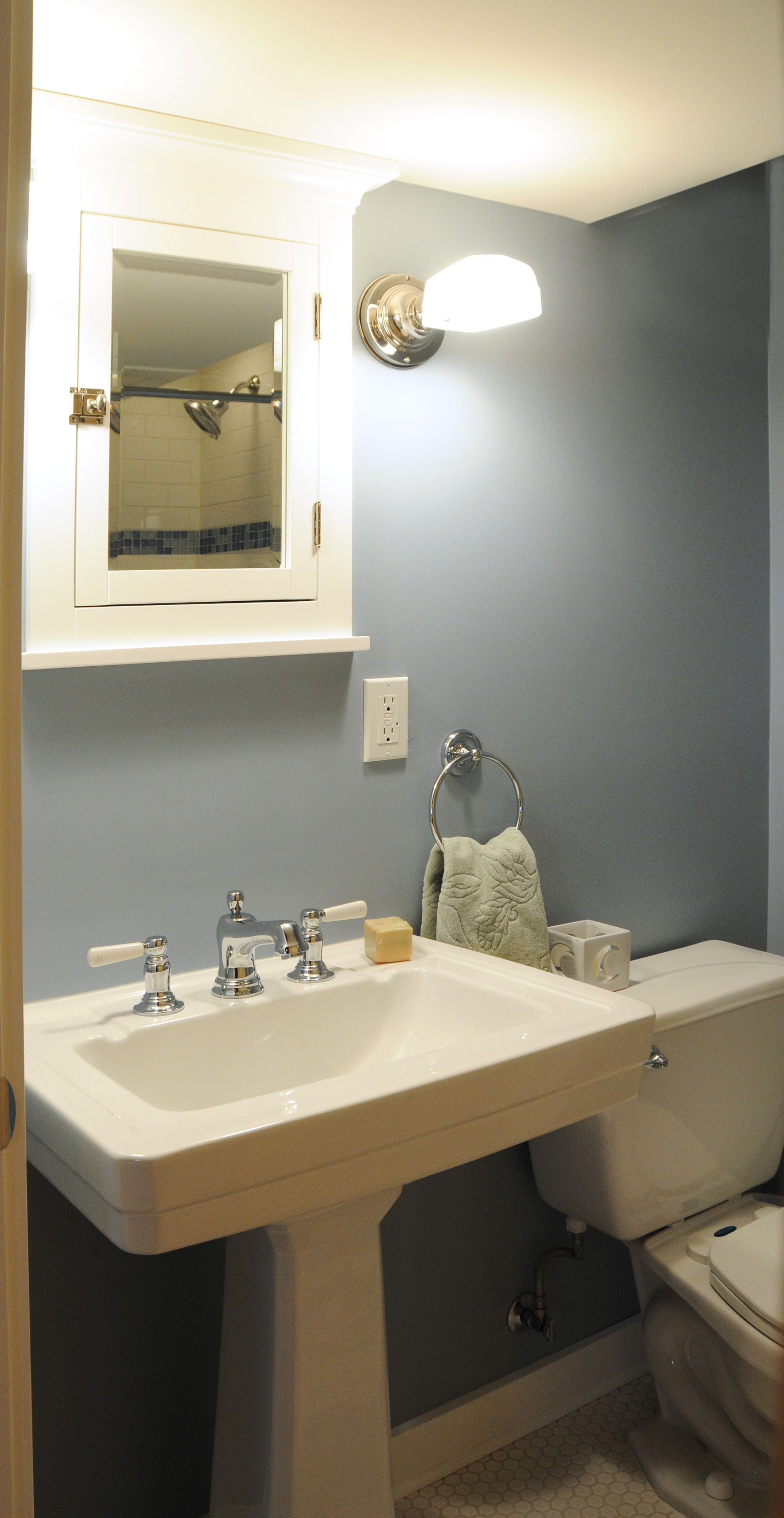 Basement BathroomDesigned By Castle Building And Remodelings - Building a basement bathroom
