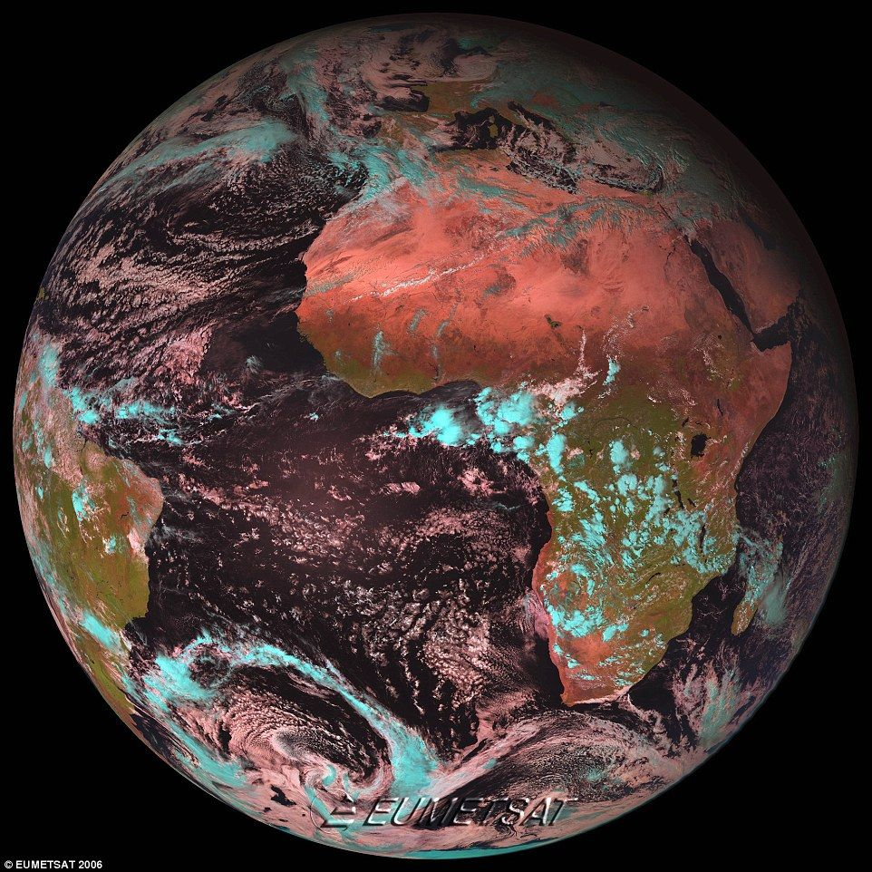 Satellite That Could Improve Forecasting Reveals First Image - Earth satellite view 2016
