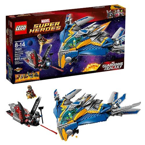 LEGO Marvel Guardians of the Galaxy 76021 Milano Spaceship  LEGO