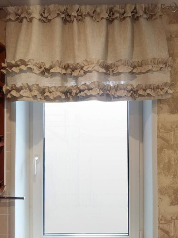 curtains linen ruffled | boho curtains, beige kitchen, beautiful curtains