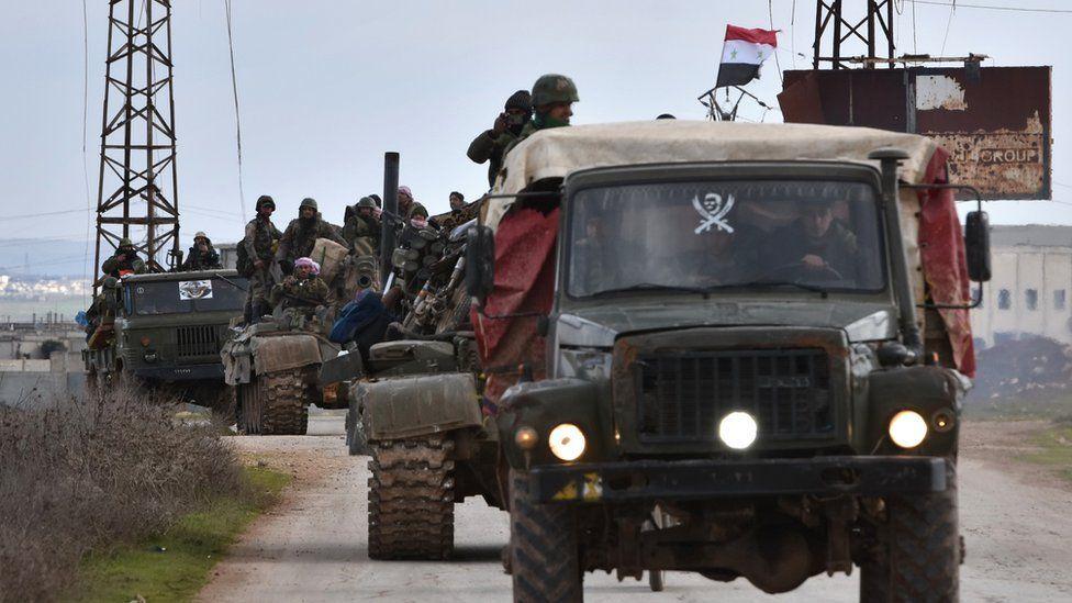 الحرب في سوريا قوات الحكومة تستعيد مدينة سراقب الاستراتيجية In 2020 Aleppo Damascus Aleppo City