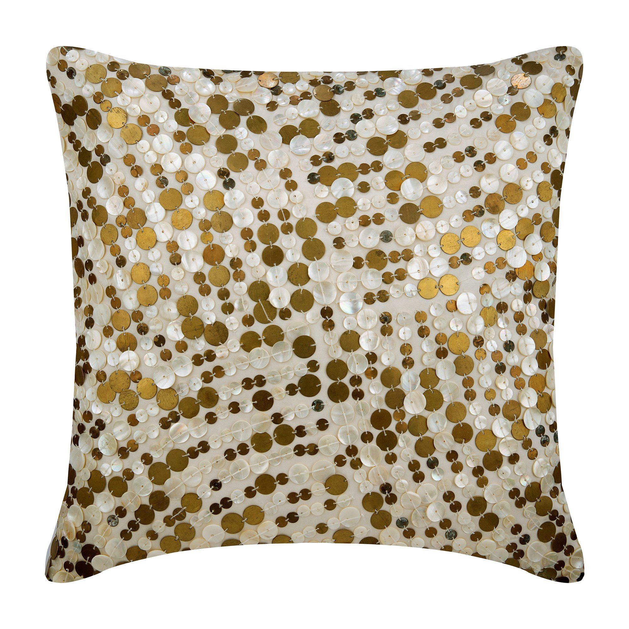 Designer Gold Throw Pillow Cover Custom 16x16 Etsy Gold Throw Pillows Silk Throw Pillows Throw Pillows