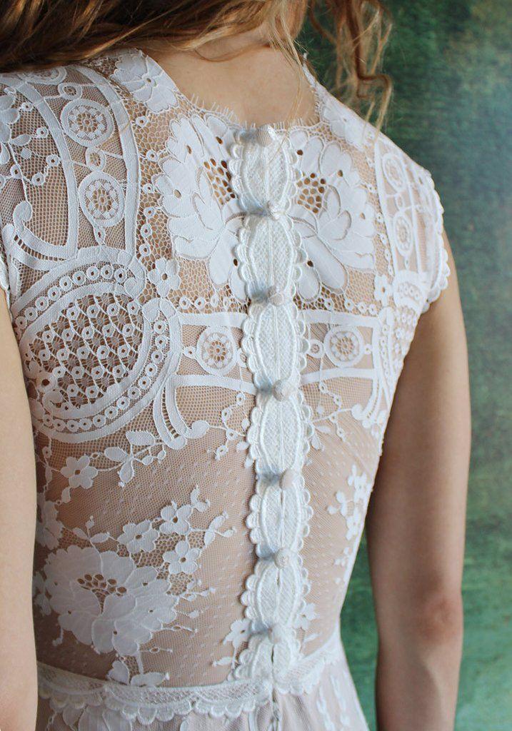 Cheyenne Lace Bridal Gown Romantique Claire Pettibone