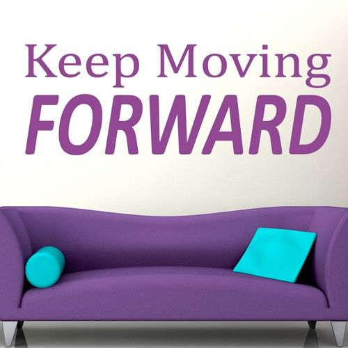 moving forward quotes | wall decals canada-wall stickers - keep