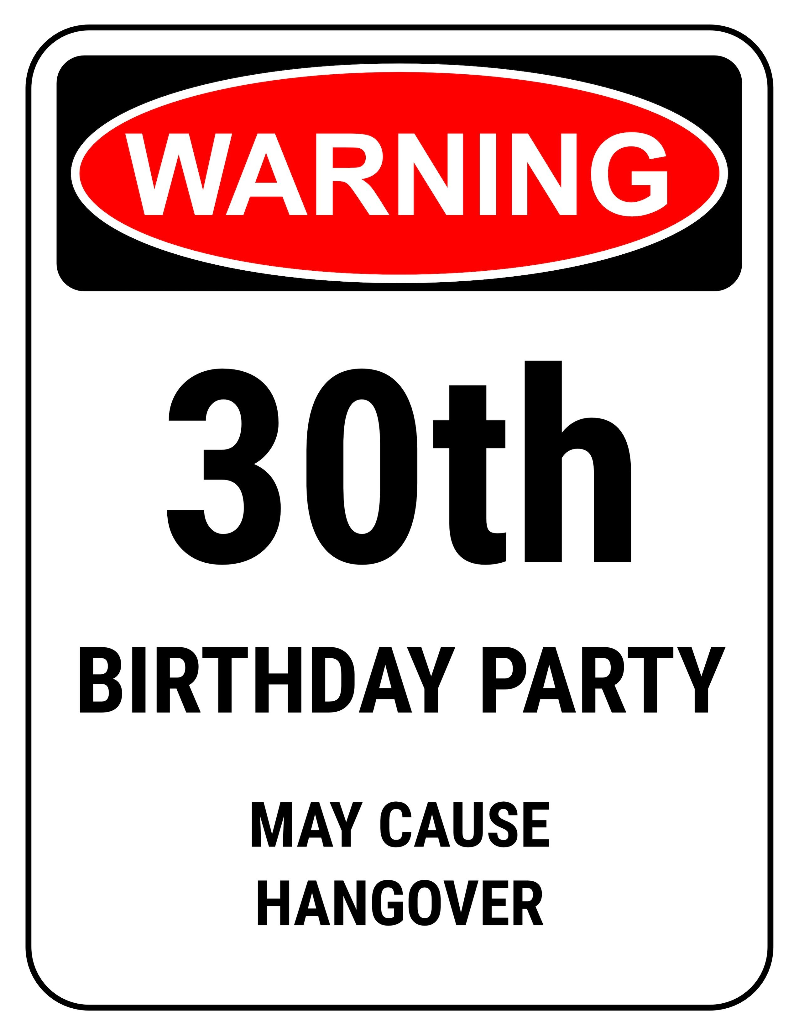 Pin On Dirty 30 Bday