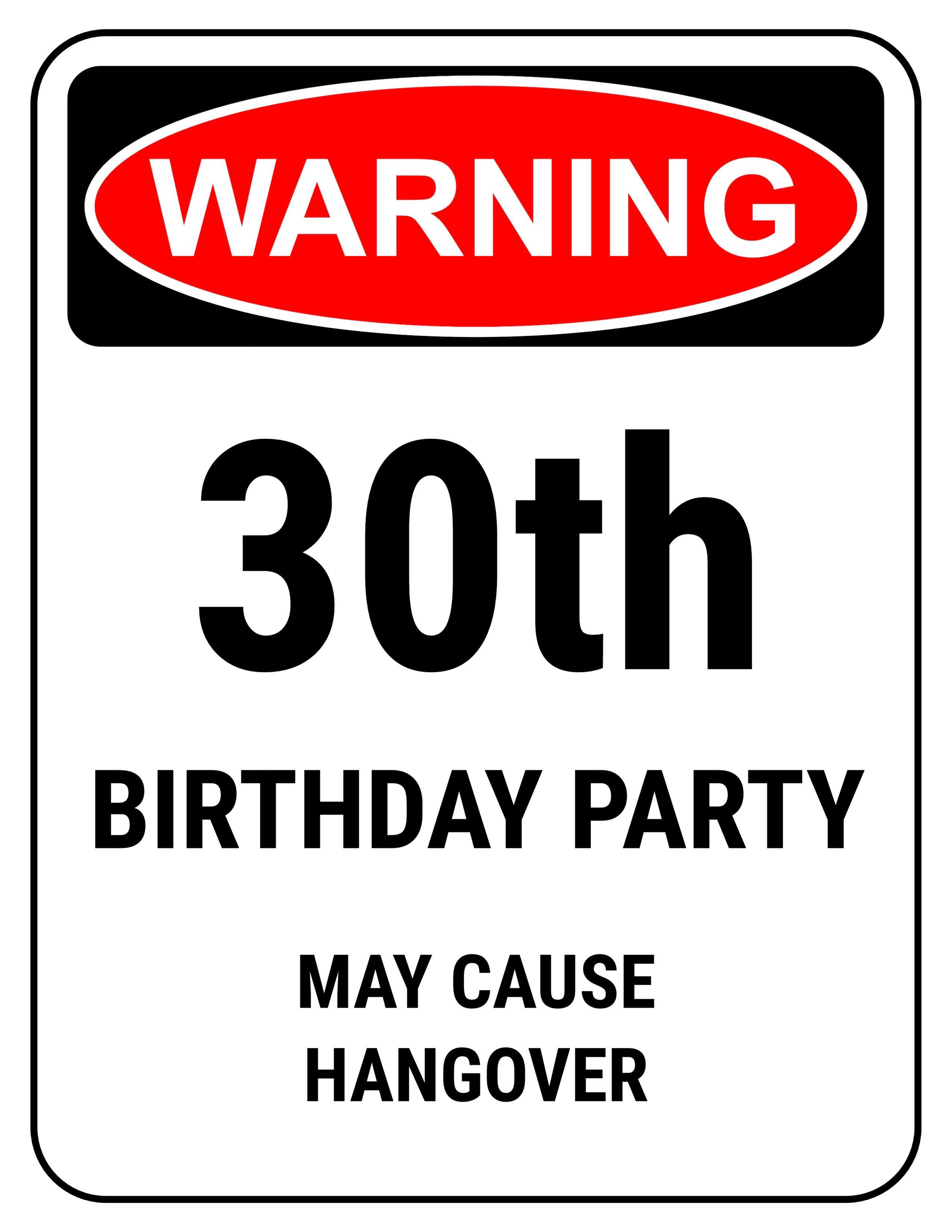 Funny 30th Birthday Gag Gifts 30th birthday invitations