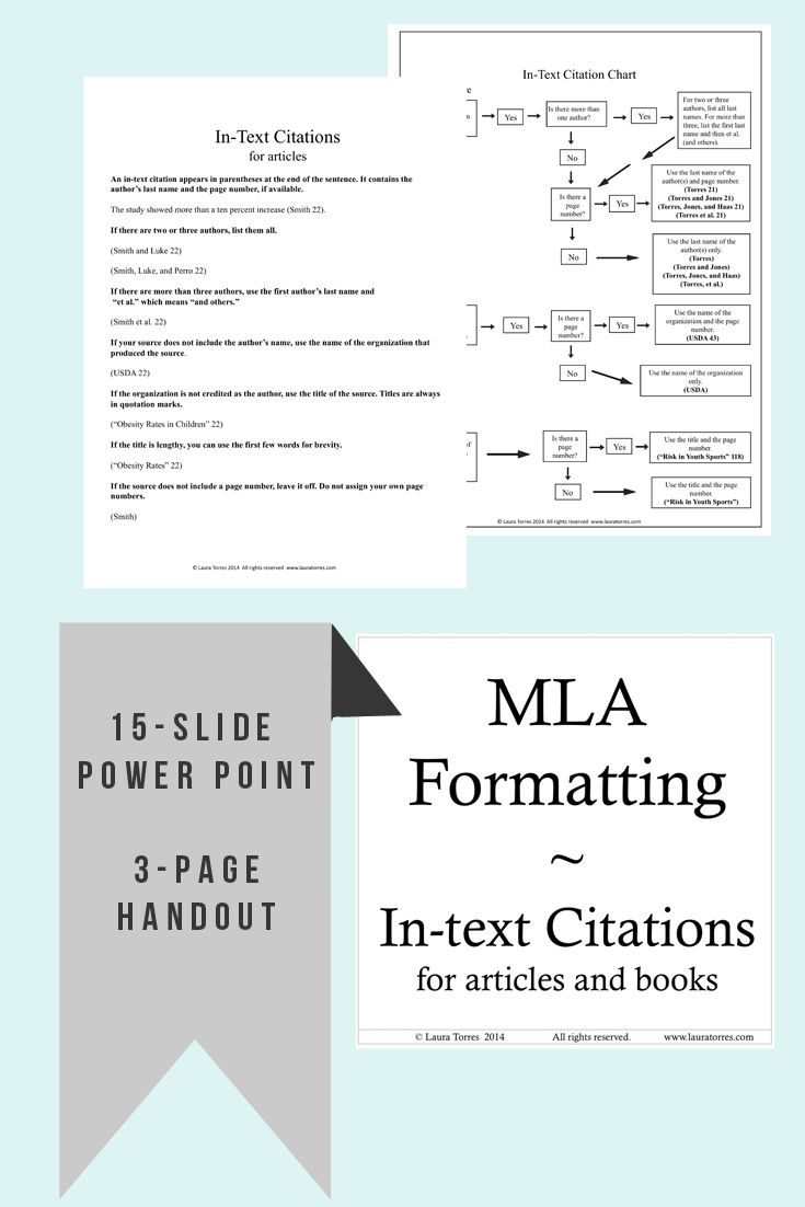 mla format in text citations flow chart rules and power point mla format in text citations flow chart rules and power point presentation