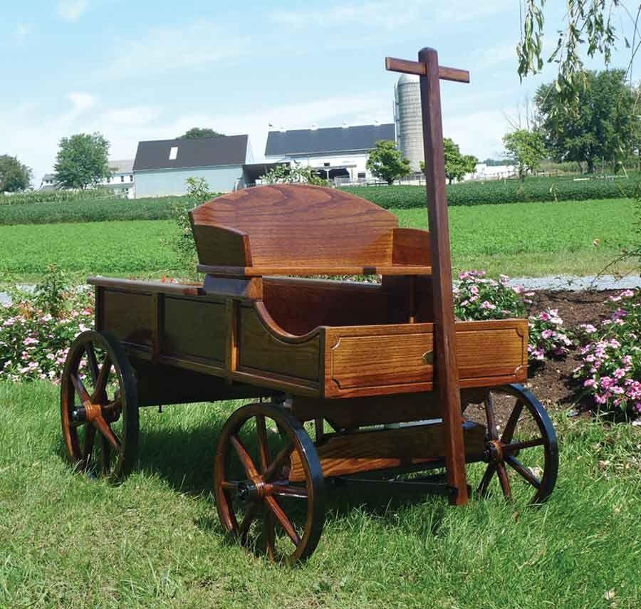 Amish Extra Large Buckboard Wagon