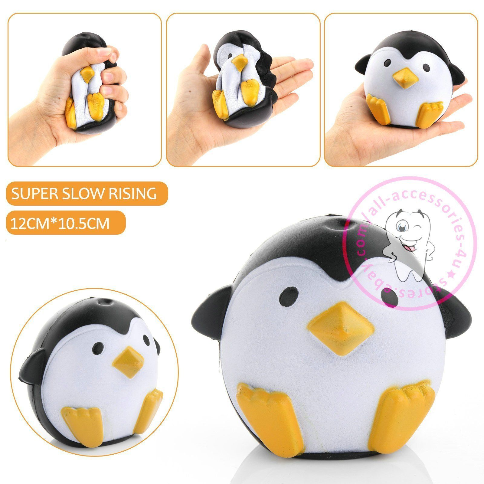 Jumbo Squishy Colorful Slow Rising Cute Kids Gifts Squeeze Toy Pressure Relief