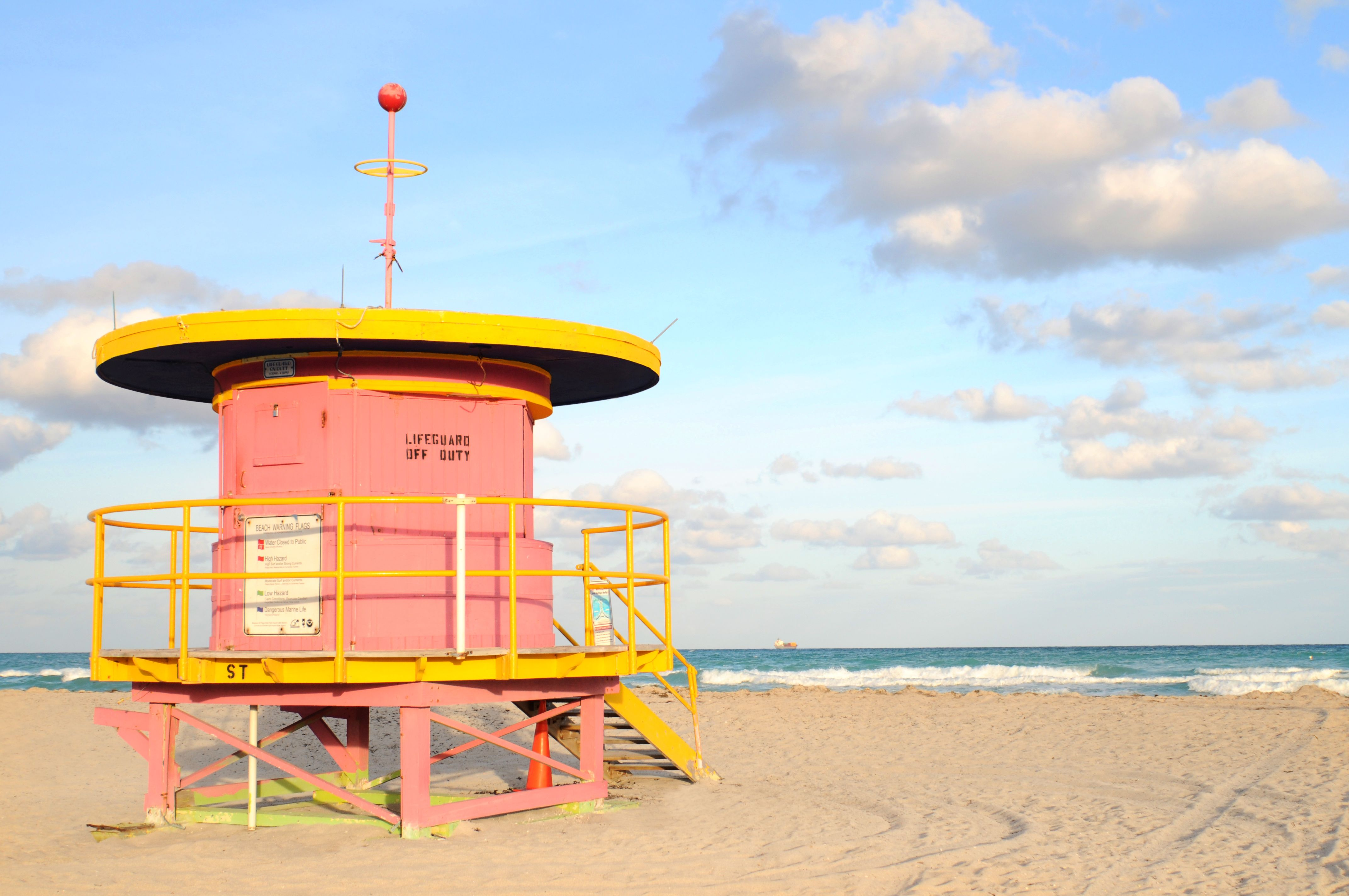 Head to Miami in January and experience our year round