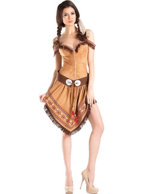 Adult Native American Princess Body Shaper Costume Indian princess - princess halloween costume ideas