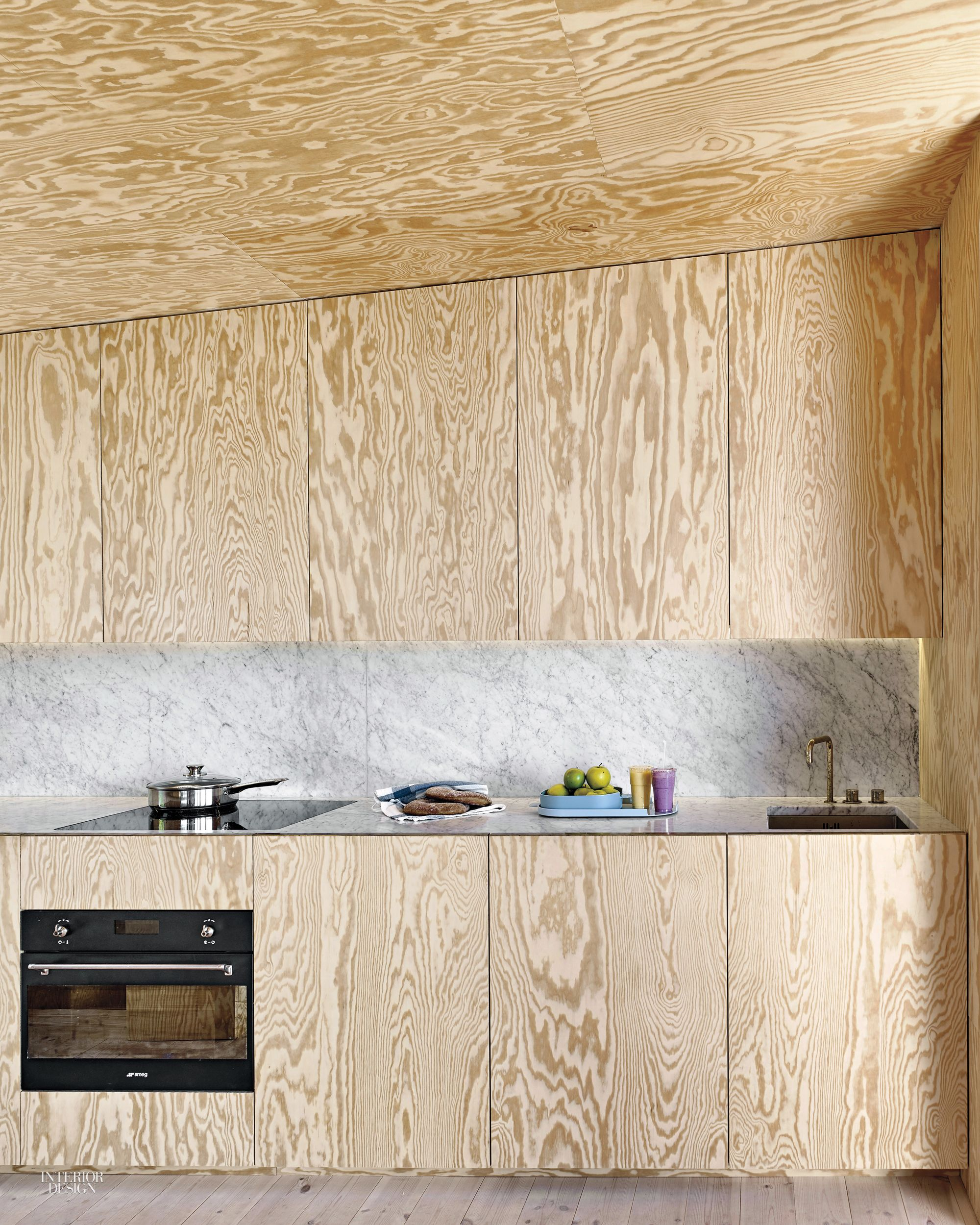 Diy Plywood Kitchen Cabinet Doors: The Success Of Andreas Martin-Löf's House Near Stockholm