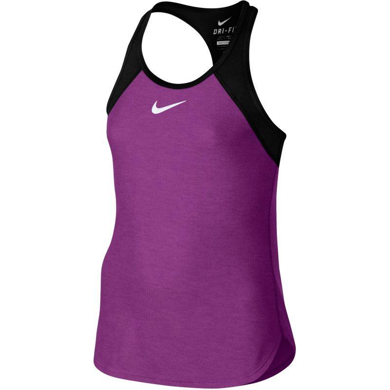 7927bb58e9a8 Nike Girls  Slam Tennis Tank Top