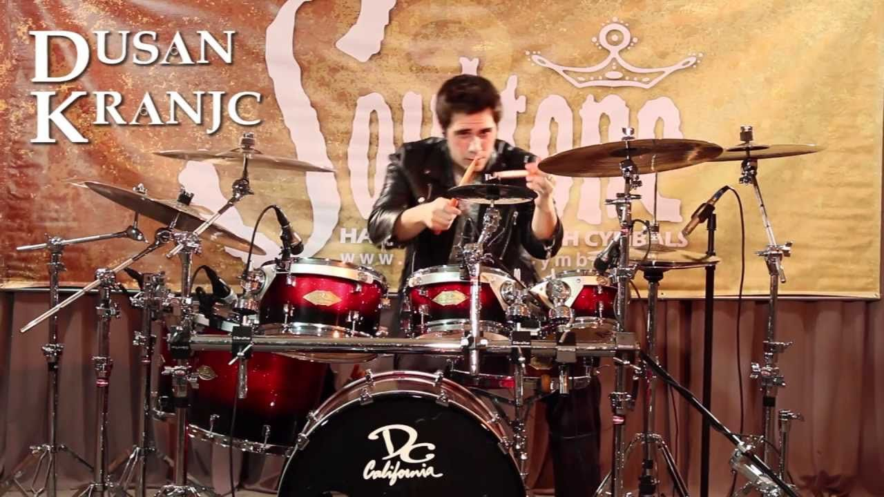 Dusan drum solo | 2CELLOS | Pinterest | Drums and Solo climbing