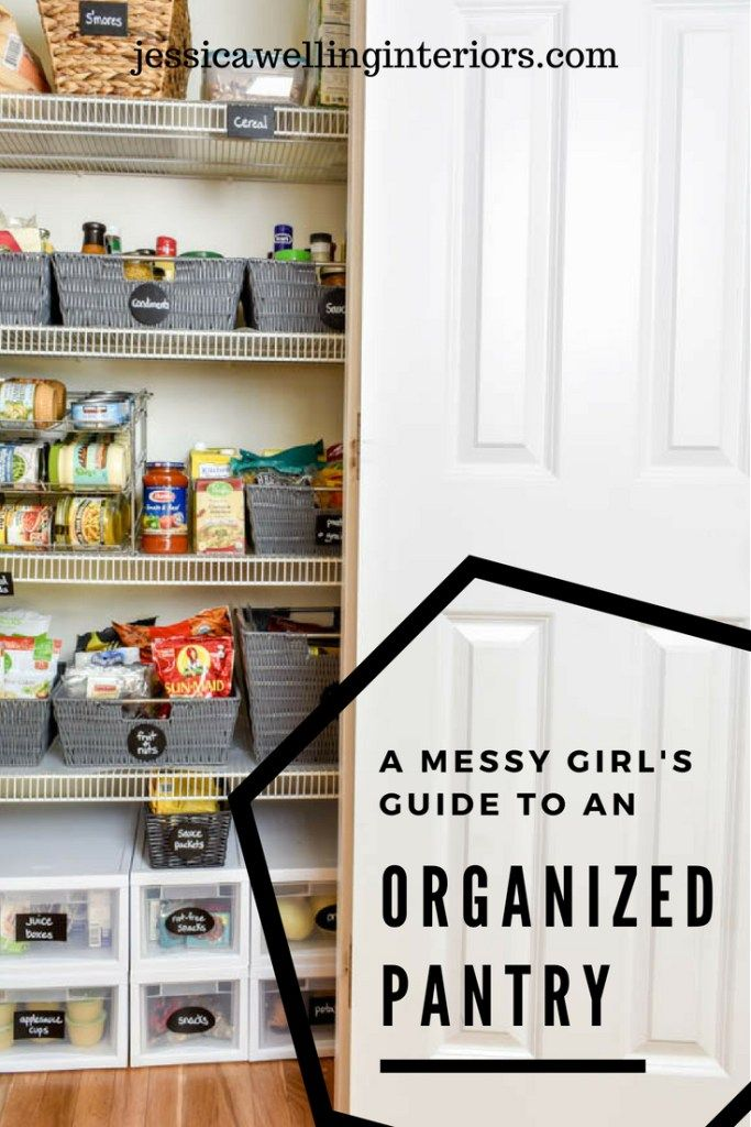 Are you scared to open your pantry