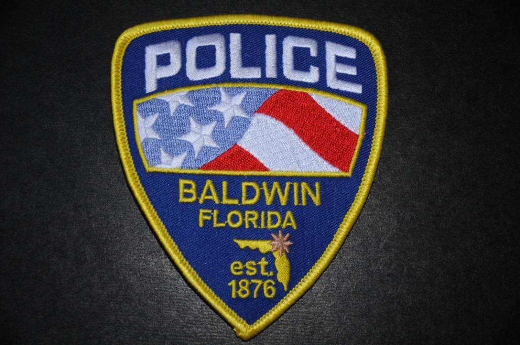 Baldwin police patch duval county florida defunct