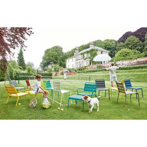Gartenstuhl Aus Metall, Grau Batignoles | Maisons Du Monde.  ArticleDegreeGardenDeko