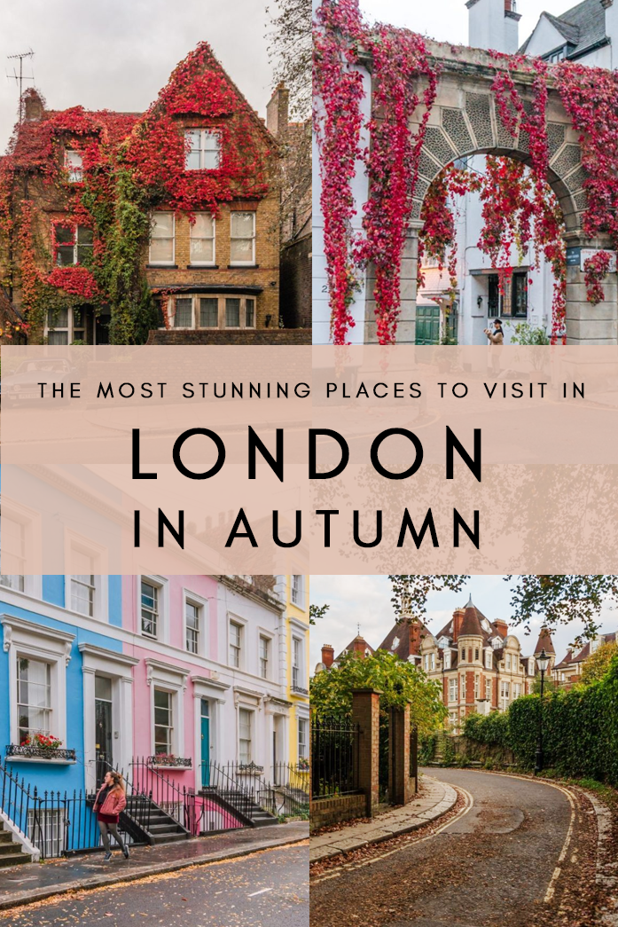 Most Beautiful Places in London in Autumn #beautifulplaces