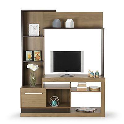 Lia meuble Living / meuble TV décor bois naturel Idées déco