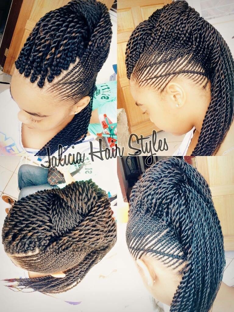 Jalicia black girl braids pinterest hair style protective