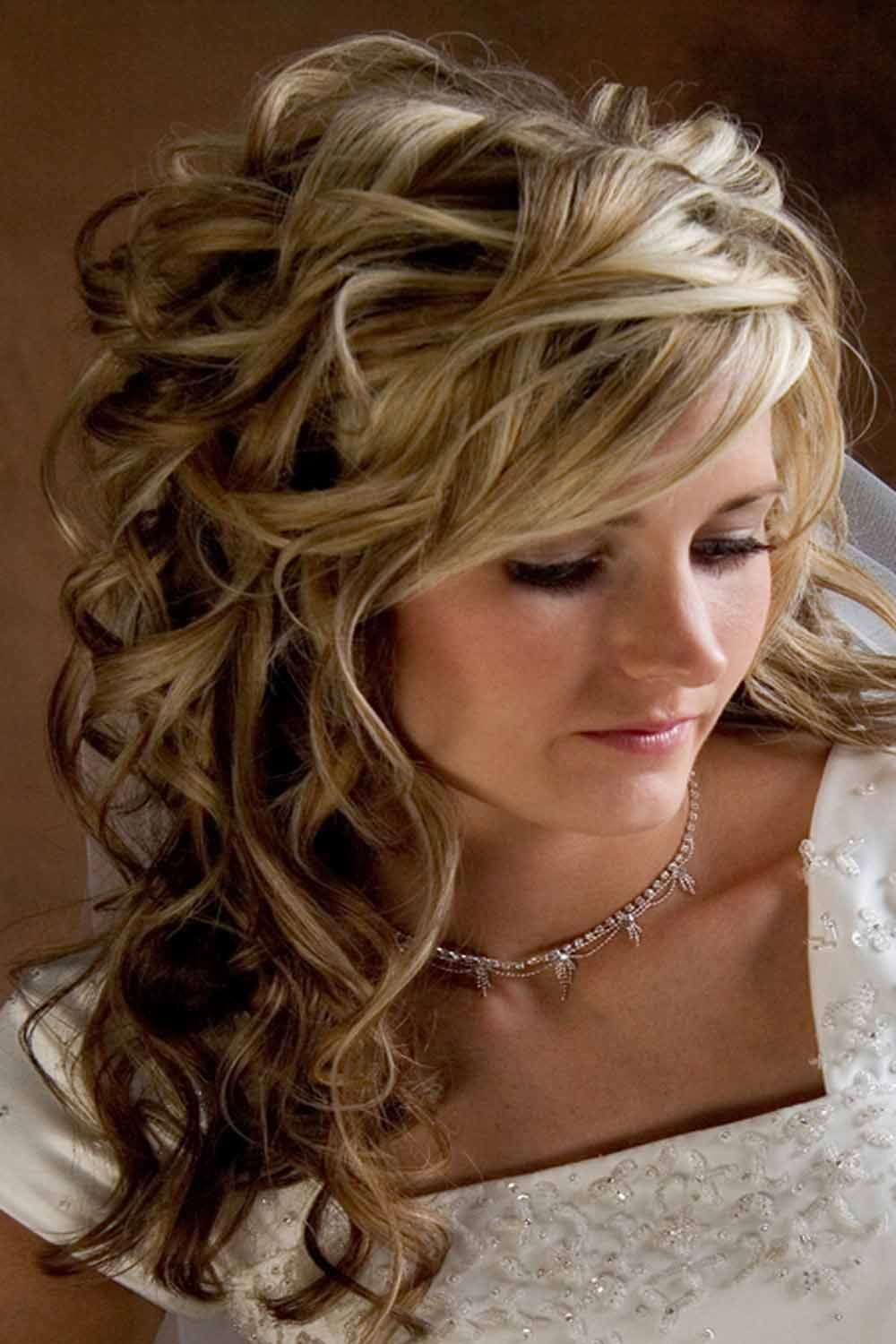country western wedding dresses | wedding hairstyles for long hair